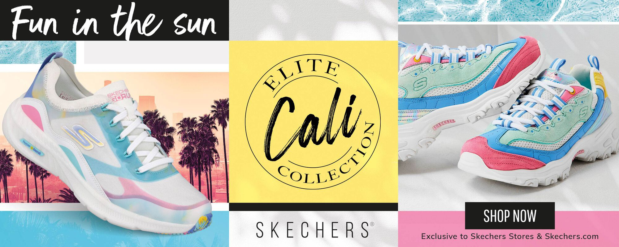 Fun in the Sun - Cali Elite Collection - Skechers - Shop Now