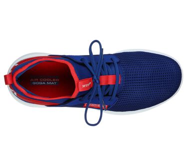 Skechers GOrun Fast - Switching USA, BLUE/RED, large image number 2