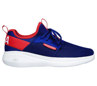 Skechers GOrun Fast - Switching USA, BLUE/RED, large image number 5