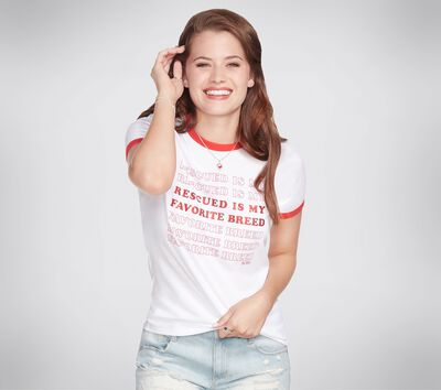 BOBS Apparel - Rescued Ringer Tee Shirt