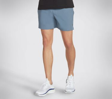 Skechers Apparel Movement 5 Inch Short II, BLUE / GRAY, large image number 0