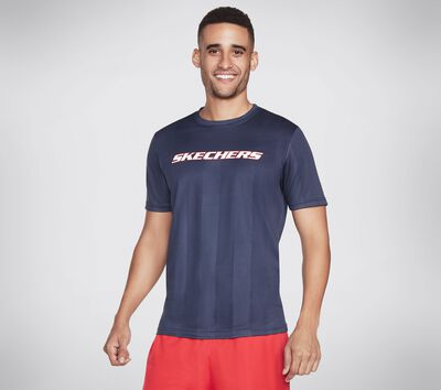 Skechers Apparel Stripes Tee Shirt