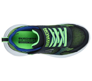 Skechers GOrun Fast - Sprint Jam, NAVY/LIME, large image number 1