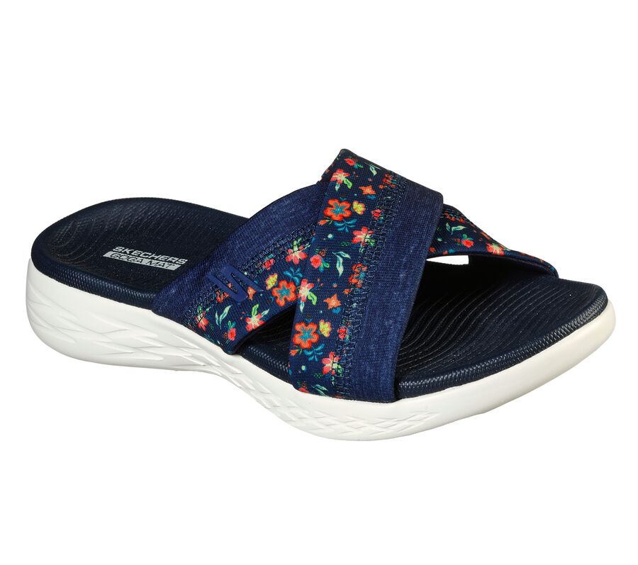Skechers On the GO 600 - Blooms, NAVY, largeimage number 0