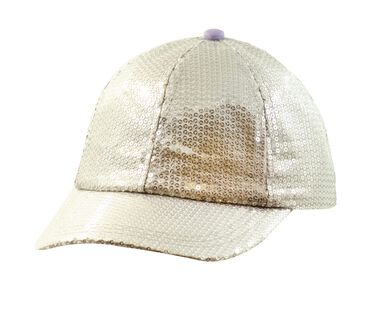Party Time Adjustable Hat, SILVER, large image number 0