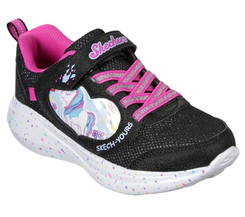 Skech Yours: Skechers GOrun Fast - Miss Crafty, BLACK, largeimage number 0