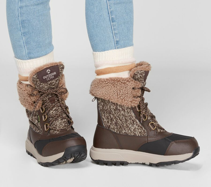Skechers On the GO Outdoors Ultra - Frost Bound, CHOCOLATE, largeimage number 0