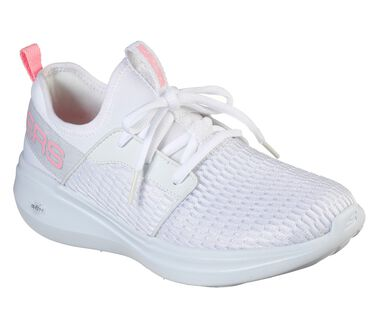 Skechers GOrun Fast - Glimmer, WHITE/PINK, large image number 1