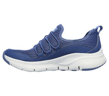 Skechers Arch Fit - Lucky Thoughts, NAVY, large image number 4