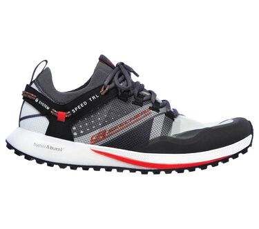 Skechers GOrun Speed TRL Hyper, CHARCOAL/RED, large image number 5