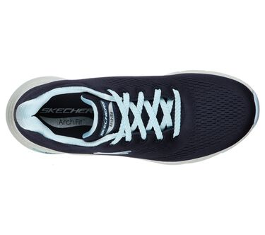 Skechers Arch Fit - Big Appeal, NAVY/LIGHT BLUE, large image number 2
