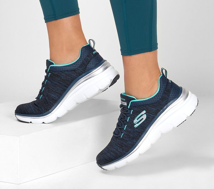 Fashion Fit - Up A Level, NAVY/TURQUOISE, largeimage number 0