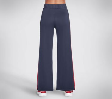 Skechers Apparel Banner Wide Leg Pant, WHITE / RED / NAVY, large image number 1