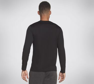 Skechers Apparel Trainer LS Tee Shirt, BLACK, large image number 1