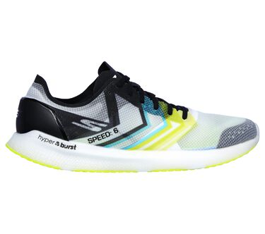 Skechers GOmeb Speed 6 Hyper, WHITE/LIME, large image number 5