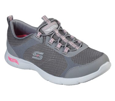 Skechers Arch Fit Refine - Her Best, GRAY / PINK, large image number 0