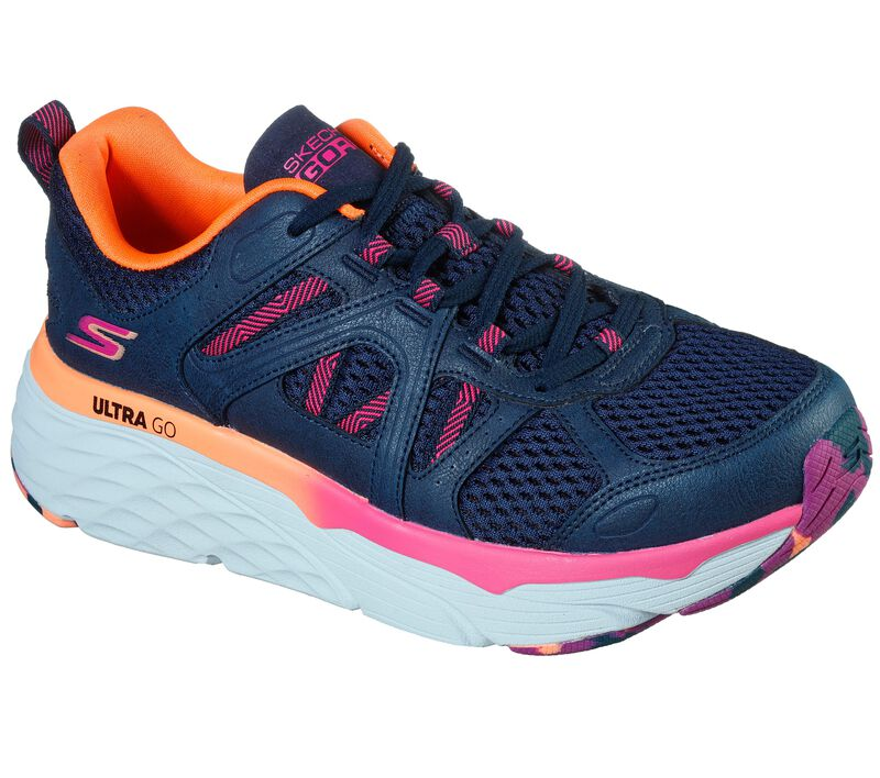 Skechers Max Cushioning Elite - Wind Chill, NAVY / PINK, largeimage number 0