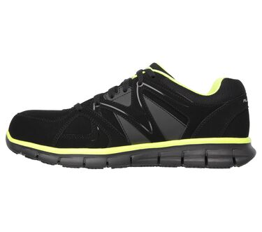 Work Relaxed Fit: Synergy - Ekron Alloy Toe, BLACK/LIME, large image number 3