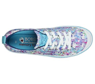 EXCLUSIVE BOBS B Wild - Peace Pups, BLUE/MULTI, large image number 1