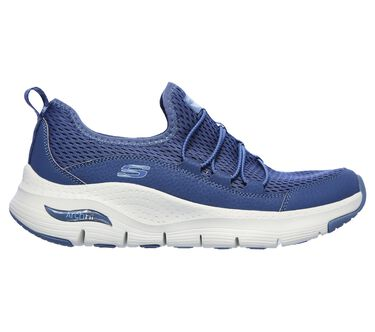 Skechers Arch Fit - Lucky Thoughts, NAVY, large image number 5