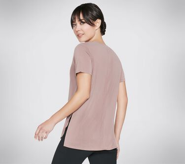 Skechers Apparel Tranquil Tee Shirt, RUST, large image number 2