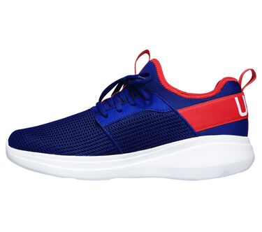 Skechers GOrun Fast - Switching USA, BLUE/RED, large image number 4