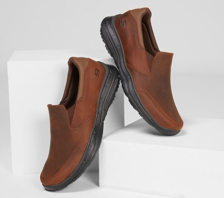 Relaxed Fit: Glides - Calculous, BROWN, largeimage number 0