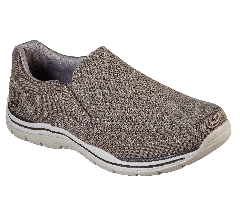 skechers gomel mens casual slip on shoes