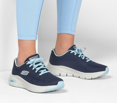 Skechers Arch Fit - Big Appeal, NAVY/LIGHT BLUE, large image number 0
