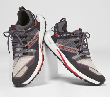 Skechers GOrun Speed TRL Hyper, CHARCOAL/RED, large image number 0