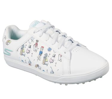 Skechers GO GOLF Drive 4 - Dogs At Play, WHITE/BLUE, large image number 1