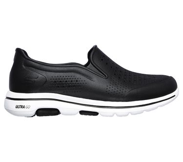 Cali Gear: Skechers GOwalk 5 - Easy Going, BLACK/WHITE, large image number 4
