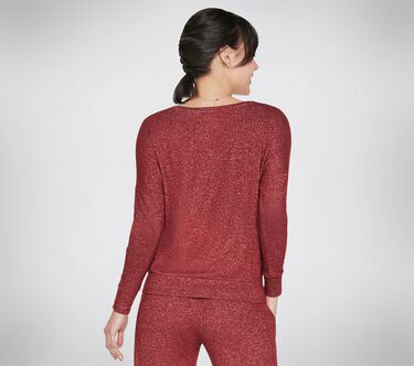 BOBS Rescued Cozy Pullover Top, BURGUNDY, large image number 1