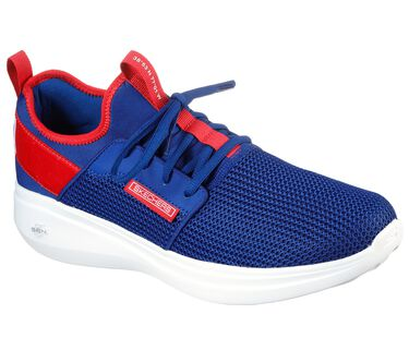 Skechers GOrun Fast - Switching USA, BLUE/RED, large image number 1