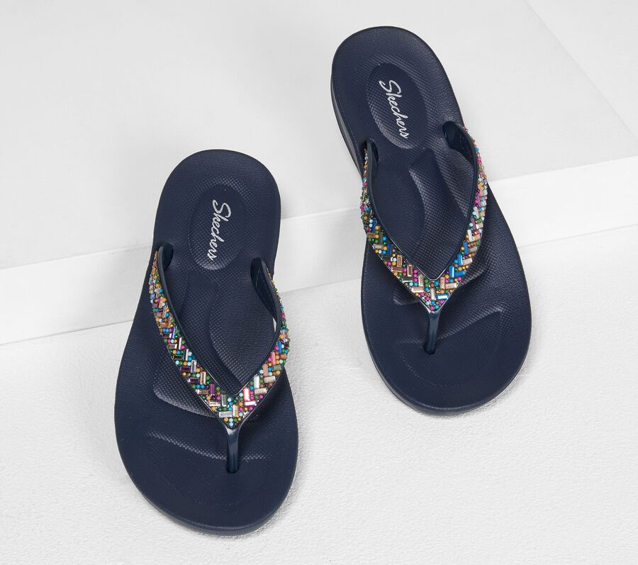 Bungalow - Brunch Date, NAVY/MULTI, largeimage number 0