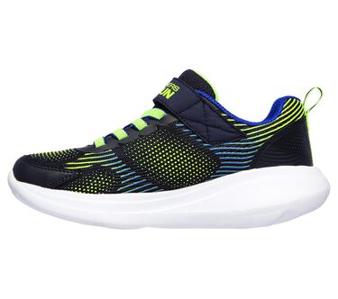Skechers GOrun Fast - Sprint Jam, NAVY/LIME, large image number 3