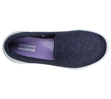 Skechers GOwalk 5 - Honor, NAVY / WHITE, large image number 1