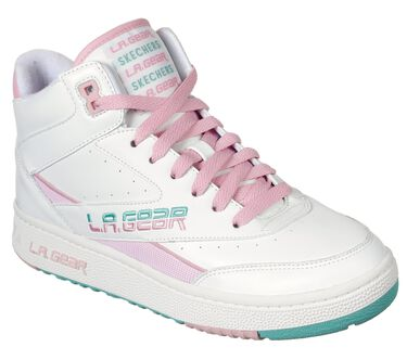 L.A. Gear: Hot Shots, WHITE / LIGHT PINK, large image number 1