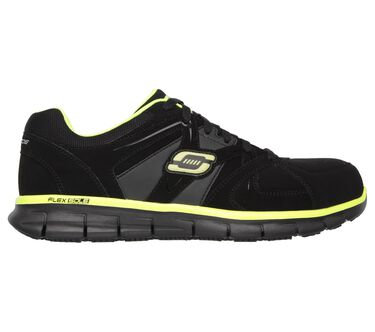 Work Relaxed Fit: Synergy - Ekron Alloy Toe, BLACK/LIME, large image number 5