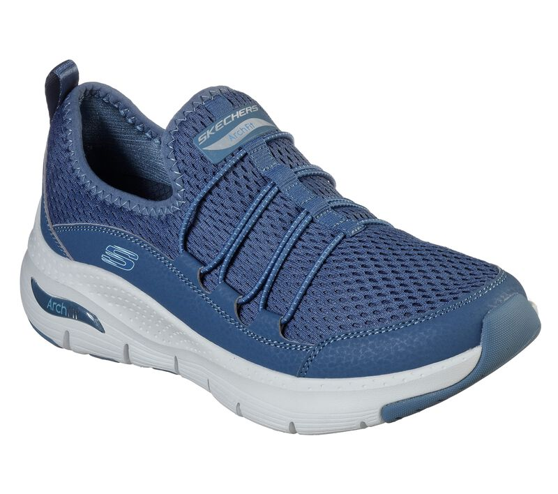 Skechers Arch Fit - Lucky Thoughts, NAVY, largeimage number 0