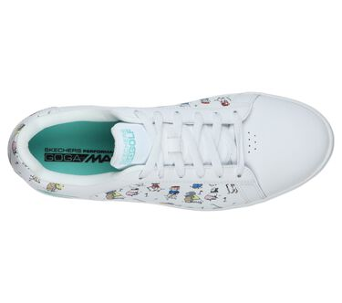 Skechers GO GOLF Drive 4 - Dogs At Play, WHITE/BLUE, large image number 2