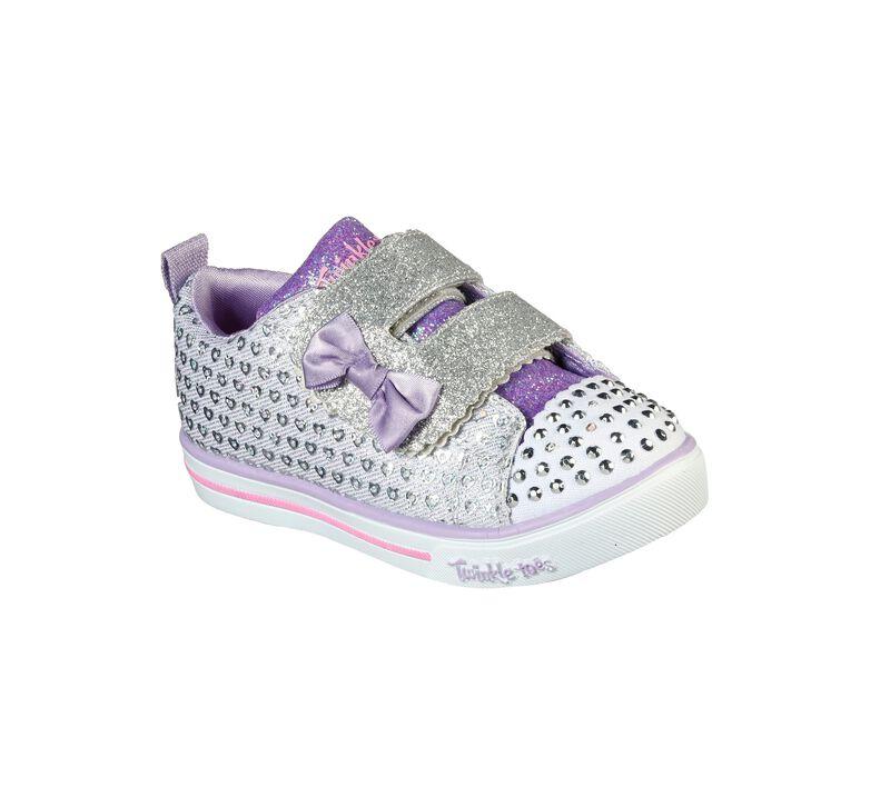 Twinkle Toes: Sparkle Lite - Peek-A-Cute, SILVER, largeimage number 0
