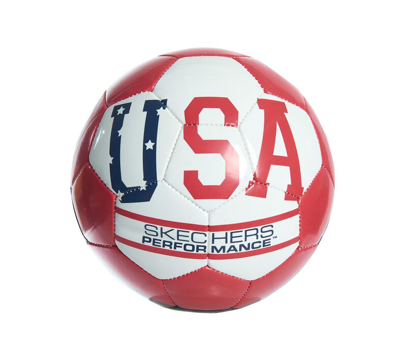 USA Size 5 Soccer Ball, BLUE/RED, largeimage number 0
