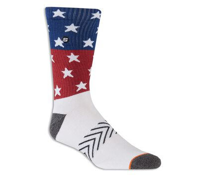 1 Pack Stars Non Terry Crew Sock