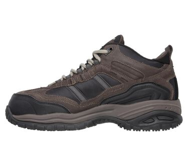 Work Relaxed Fit: Soft Stride - Canopy Comp Toe, BROWN / BLACK, large image number 3