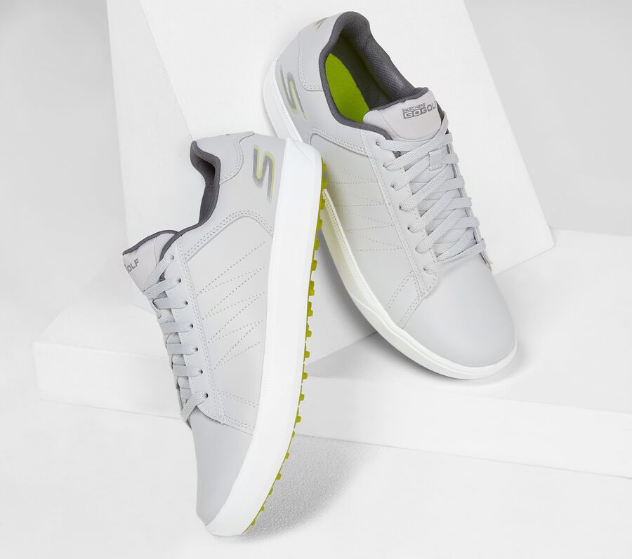 Skechers GO GOLF Drive 4, GRAY/LIME, largeimage number 0