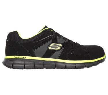 Work Relaxed Fit: Synergy - Ekron Alloy Toe, BLACK/LIME, large image number 4