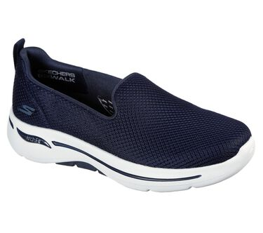 Skechers GOwalk Arch Fit - Grateful, NAVY / WHITE, large image number 1