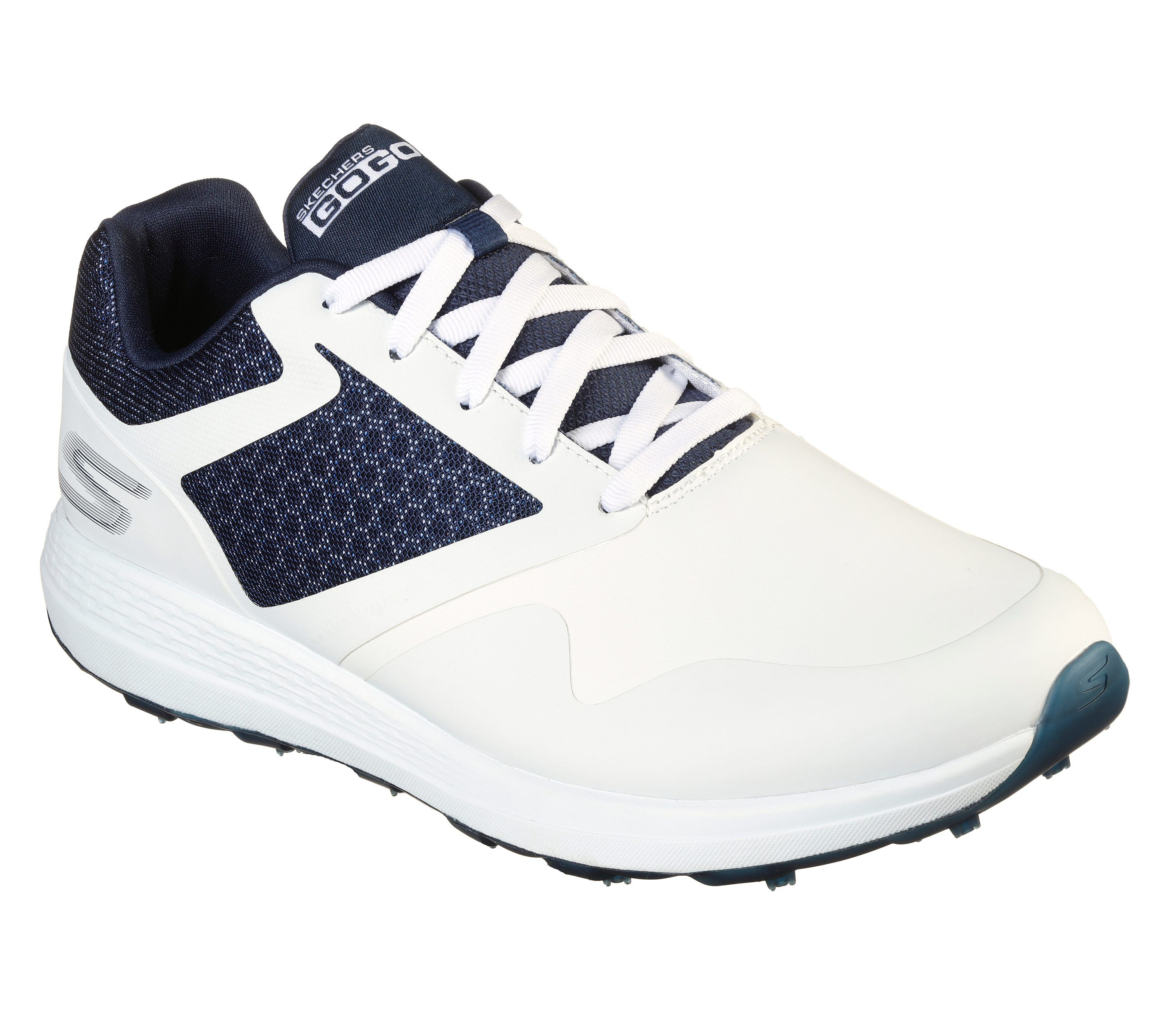 skechers on the go navy white Limit