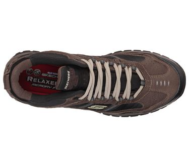 Work Relaxed Fit: Soft Stride - Canopy Comp Toe, BROWN / BLACK, large image number 1